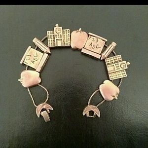 Jewelry - Teachers charm bracelet
